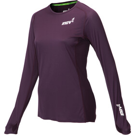 inov-8 Base Elite Jersey manga larga Mujer, purple